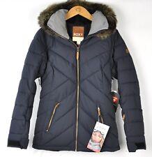 Roxy Womens Quinn Ski Snow Jacket ERJTJ03165 True Black Size Large