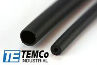 "3 Lot TEMCo 1/8"" Marine Heat Shrink Tube 3:1 Adhesive Glue Lined 4 ft BLACK"