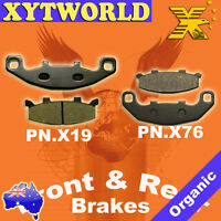 FRONT REAR Brake Pads for Kawasaki GPX 250 R EX 250 F Ninja 1987-