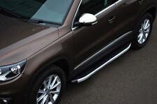 Aluminium Side Steps Bars Running Boards To Fit Volkswagen Tiguan (2007-16)