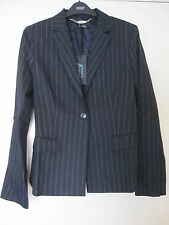 BNWT GUESS by Marciano Ladies Women Blazer Size 44 Black Striped