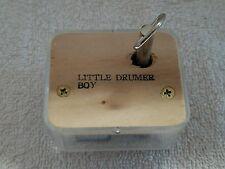 """SANKYO MUSICAL PLAYS  """"LITTLE DRUMER BOY  """""""