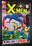 Uncanny X-MEN #35 (1967 Marvel) -- Spider-Man Crossover -- VG / VG+