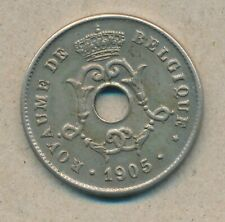 België/Belgique 10 ct. Leopold II 1905 Fr Morin 264 (134946)