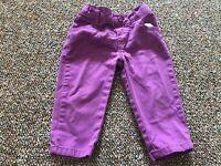 Garanimals Purple Girls Pants 12M