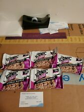 (5) Count Lot Of The Iconic Cookie Oatmeal Raisin 2.47 Oz Each 15 g Protein