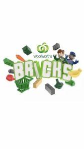 Woolworths Bricks *LEGO* YOU CHOOSE * Trolley* Solar Panels *UPDATED  29/09/21
