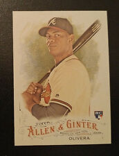 2016 Topps Allen & Ginter Full Size Rookie - HECTOR OLIVERA - Atlanta Braves