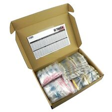 300value 2800pcs 1/4W, 1/2W, 1W, 2W, 3W Carbon Metal Film Resistor +/-1% Box Kit