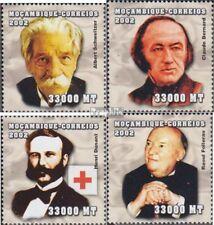 Mosambik 2548-2551 postfris MNH 2002 Persoonlijkheden