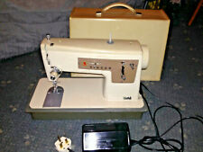 Singer 427 Electric Heavy Duty Zig Zag Sewing Machine With Case