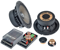 """Ground Zero Uranium GZUC 650SQX 6.5"""" 16.5cm 2 way car component speakers"""