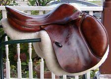 "Prestige Close Contact Saddle,17"" Seat,""Hunter D"",Jumper,Eventing"