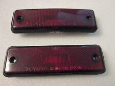 88 89 90 91 TOYOTA COROLLA REAR SIDE MARKER LIGHT LAMP  ((PAIR))
