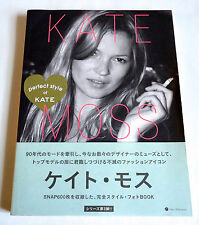 KATE MOSS Perfect Style of Kate JAPAN PHOTO BOOK 2011 Super Model