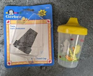 VTG New Gerber Little Suzy's Zoo Boof Bear Witzy 7 oz. Spill Proof Sippy Cup