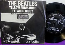 The BEATLES Yellow Submarine / Eleanor Rigby 45 Single AUSTRALIA / NEW ZEALAND