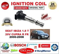 FOR SEAT IBIZA 1.8 T 20V CUPRA R FR 2000-2008 SINGLE IGNITION COIL 4 PIN D-SHAPE