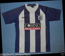 Huddersfield Town / 2007-2008 Home - MITRE - VTG JUNIOR Shirt / Jersey. Size: 13