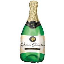 91cm Bouteille de Champagne Ballon Plat Fiançailles Mariage Fête D'Anniversaire