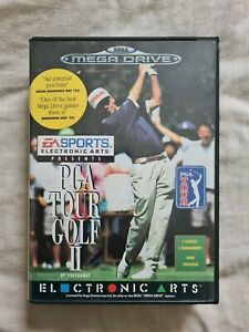 PGA TOUR GOLF II 2 Sega Mega Drive / Genesis Game COMPLETE PAL Version