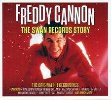 FREDDY CANNON - THE SWAN RECORDS STORY - THE ORIGINAL HIT RECORDINGS (NEW 2CD)