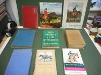 HORSE EQUESTRIAN RACING HORSEMANSHIP BOOK COLLECTION  X9 VGC LOW POST UK