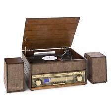 [OCCASION] auna Epoque 1909 Système audio rétro Tourne-disque Cassette Bluetooth