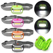 2000 LM LED 3 MODES LAMPE FRONTALE AAA de tête réglable Torche camping lumière