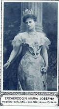 The Countess Maria Josepha highest protection wife of STERNKREUZ of Hungarian 1908