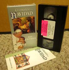 CELEBRANDO NAVIDAD Spanish Christmas songs VHS Kenya pope Westminster Cathedral