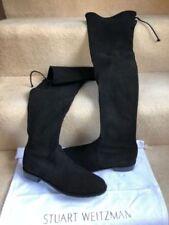 Stuart Weitzman Over Knee Boots Suede Upper Shoes for Women