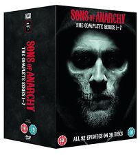 SONS OF ANARCHY ENTIRE SERIES SEASON 1-7 DVD BOXSET NEW & SEALED! REGION 4