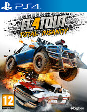 PS4 -- Flatout 4 - Total Insanity -- NUOVO