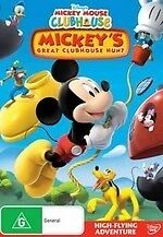 Mickey Mouse Clubhouse Mickey's Great Club House Hunt NEW DVD Region 4 Australia