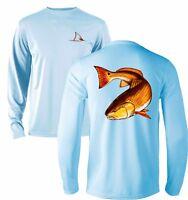 Long Sleeve Microfiber Fishing Boating UPF Sun Protection Shirt