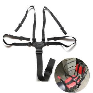 5-Point Safety Harness Belt Stroller Baby High Chair Pram Buggy Car Strap Kids