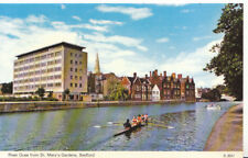 Bedfordshire Postcard - River Ouse from St Mary's Gardens - Ref 3457A