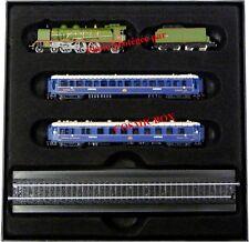 Casket small BLUE TRAIN locomotive cars Синий поезд Kleiner blauer Zug tren azul