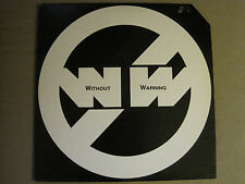 """WITHOUT WARNING WHEN YOU NEED LOVE 12"""" ORIG '87 FREESTYLE ELECTRO HOUSE MINT-"""