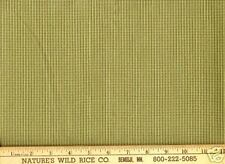 Checks Small Green & Ivory Delightful Woven Fabric Wow!