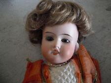 1920s Germany Bisque Head Mache Woman Doll Dep 201 G-K