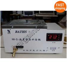 Digital Laboratory Water Bath Thermostatic Waterbath HeatBlock 2L / 220V