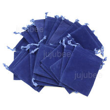 25pcs ROYAL BLUE 2 x 2.5 inch Jewelry Pouches Velvet Gift Bags