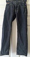 Boys Firetrap Black Straight Leg Jeans Size 8-9 Years B9
