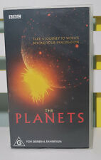 BBC THE PLANETS VHS VIDEO ABC VIDEO TWO TAPES!