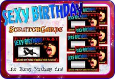 Sexy Birthday Gift Scratch Cards customise kama sutra scratchcards erotic fetish