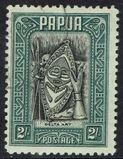 PAPUA 1932 DELTA ART 2/- USED