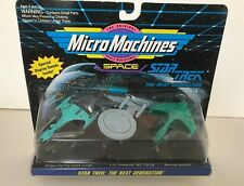 MICRO MACHINES STAR TREK The Next Generation 1993 Collection #3 Galoob