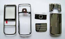 Silver facia Housing Cover Fascia for Nokia 6700 Classic 6700C case faceplate